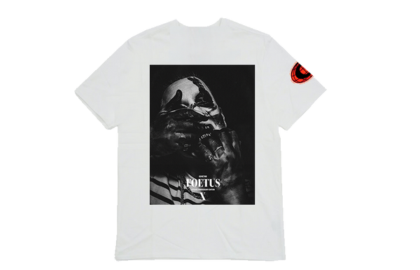 FOETUS BUNDLE - ALBUM + T-SHIRT WHITE + POSTER RESTOCK - OUTTATHISWORLD