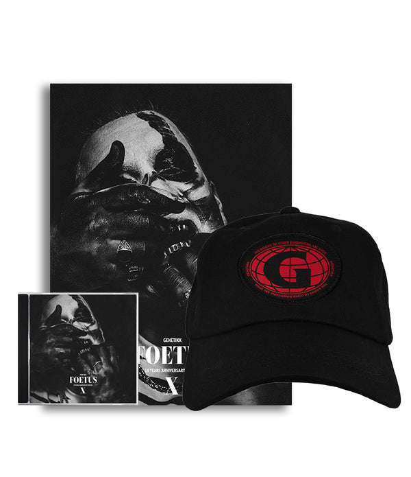 FOETUS BUNDLE - ALBUM + PATCH CAP + POSTER RESTOCK - OUTTATHISWORLD