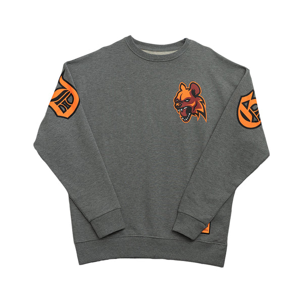 GANGLAND SWEATSHIRT GREY - OUTTATHISWORLD