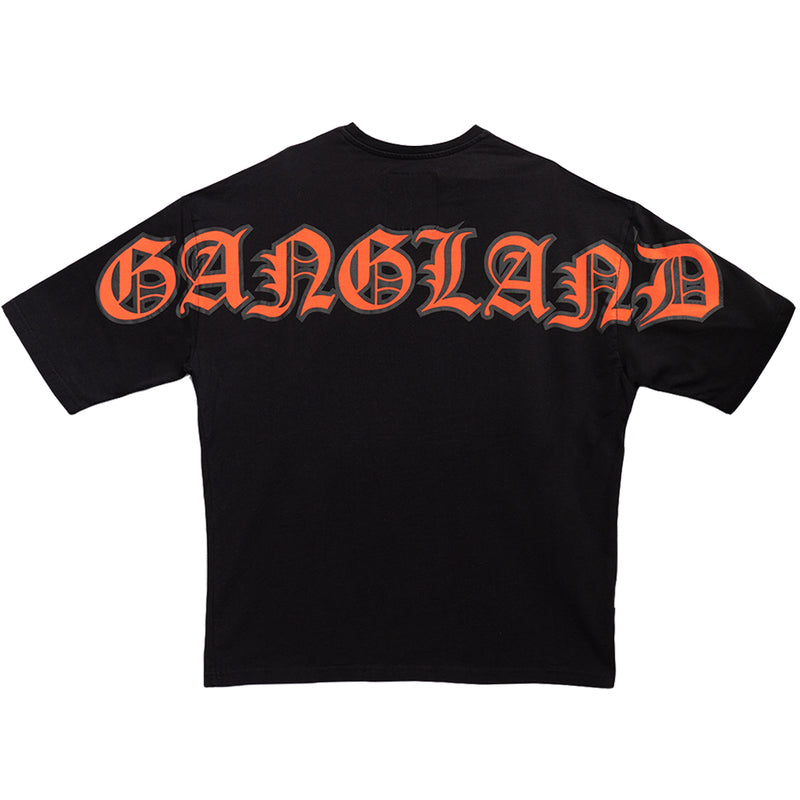 GANGLAND T-SHIRT BLACK - OUTTATHISWORLD