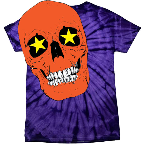 SKELETON TEE PURPLE BATIC - OUTTATHISWORLD