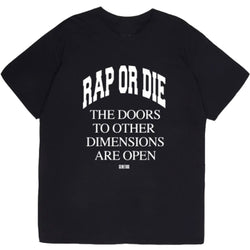 RAP OR DIE TEE - OUTTATHISWORLD