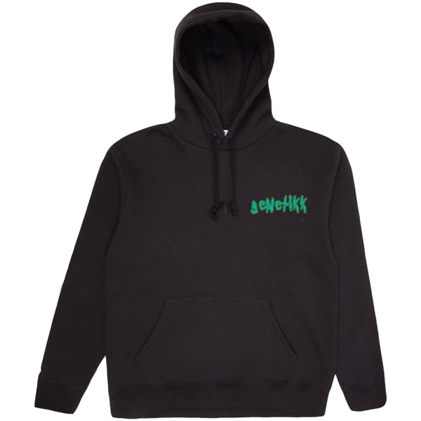 GENETIKK OUTTA THIS WORLD SPACE HOODIE BLACK - OUTTATHISWORLD