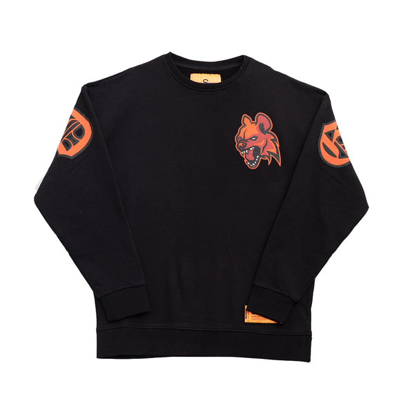 GANGLAND SWEATSHIRT BLACK - OUTTATHISWORLD
