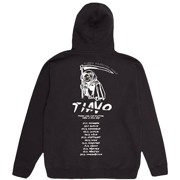 TIAVO TOUR HOODIE BLACK - OUTTATHISWORLD