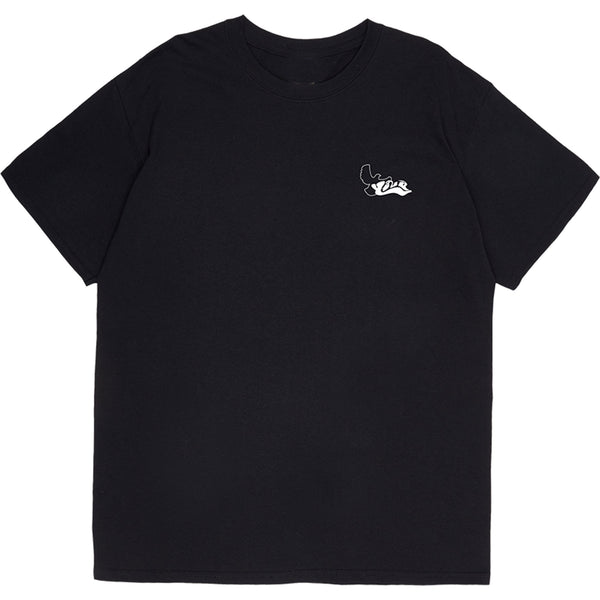 YALA T-SHIRT FTP BLACK - OUTTATHISWORLD