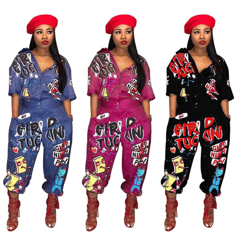 FUN GIRL JUMPSUIT - spazz26