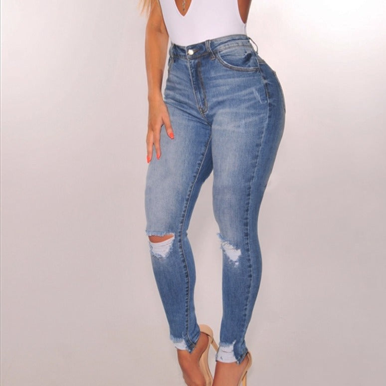 Available Oct 2  |  VANITY JEANS  High Rise Stretchy Fabric - spazz26