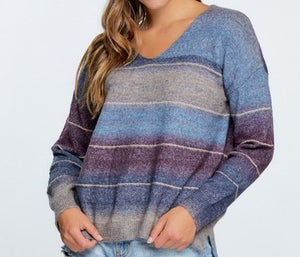 Purple Warmth Sweater