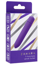 Purple - Zahara 7 Functions Velvet Bullet