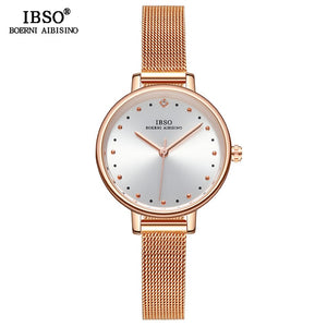 New Rose Gold Ladies Wrist Watch