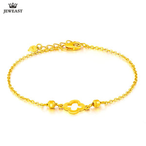 SFE 24K Pure Gold Bracelet Real 999 Solid Gold Bangle Fashion Beautiful  Trendy Classic Party Fine Jewelry Hot Sell New 2019