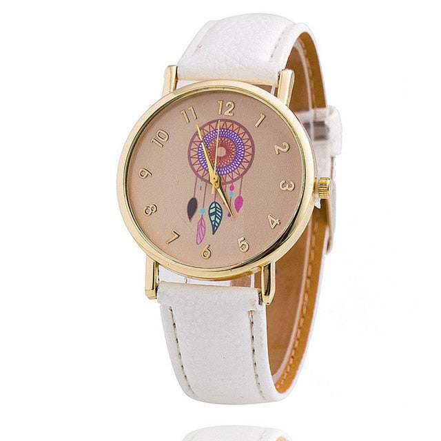 Women Watches Fashion Dreamcatcher Female Watch Ladies Girls Quartz Watches Students Clock Relogio Feminino