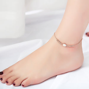 Brand fashion New Accessories Fish Anklet For Women Sexy Sandalias Beach Stone Statement Leg Chain Foot jewelry Pulsera Tobillo