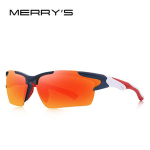 MERRYS DESIGN Men Polarized Outdoor sports Sunglasses Male Goggles UV400 Protection S9022
