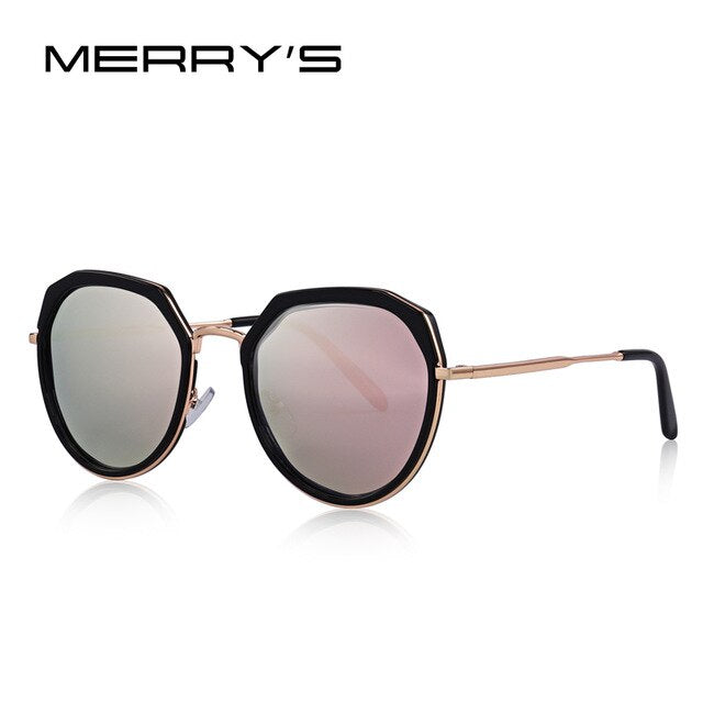 MERRYS DESIGN Women Luxury Polarized Sunglasses Metal Temple UV400 Protection S6222