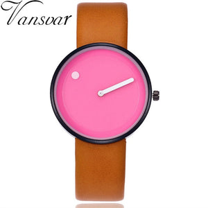 Unisex Creative Design Dot and Line Style Quartz Watches Casual Women Men Mesh Band Wristwatches Montre Femme Dropshipping