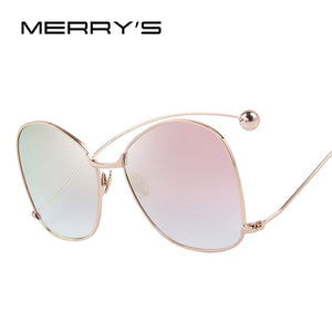 Women Personality Exaggerated Sunglasses Clear Lens Women Glasses UV400 Protection S'8066