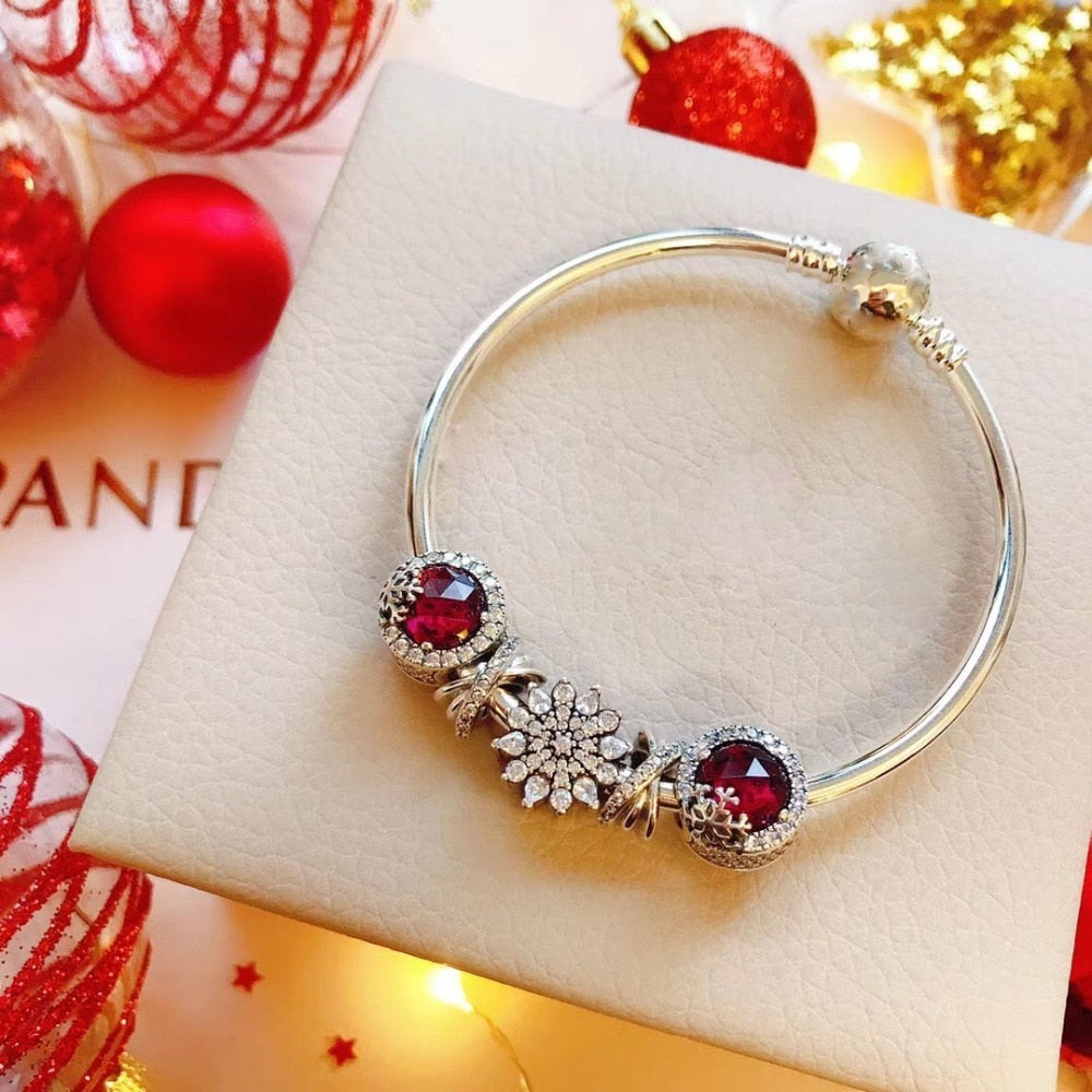 store high quality 1:1 100% 925 silver sterling snow granules free shipping anklet