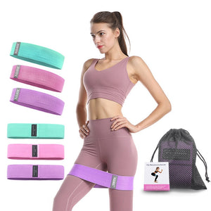 Resistance Bands Set Workout Yoga Elastic Fitness Bands Booty Bands Set Home Training Band 76*8cm Gym Equipment 60-150LB