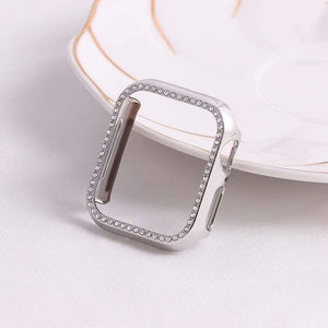 For Apple Watch 4 5 Generation Drop-Proof Diamond-Enhanced Pc Case 38 42 40 44Mm Smart Watch Protection Case Hot