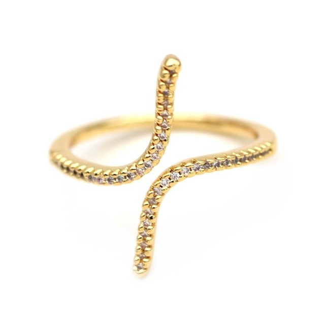 Geometric Open Adjustable Ring