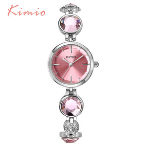 Crystal Diamond Bracelet Watch
