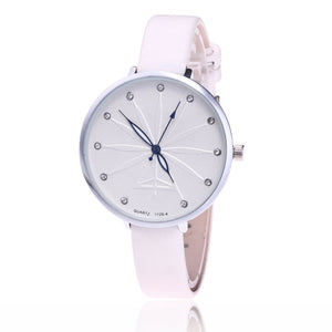 8SEASONS Luxury Casual Rhinestone PU Leather Watchbands Quartz Wrist Watches Women Ladies Watch Clock Jewelry Multicolor 1 Piece