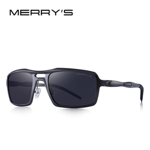 MERRYS DESIGN Men Classic Aluminum Alloy Sunglasses HD Polarized Sunglasses For Mens Outdoor Sports UV400 Protection S8276
