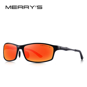 MERRYS DESIGN Men Classic Aluminum Alloy Sunglasses HD Polarized Sunglasses For Men Outdoor Sports UV400 Protection S8266