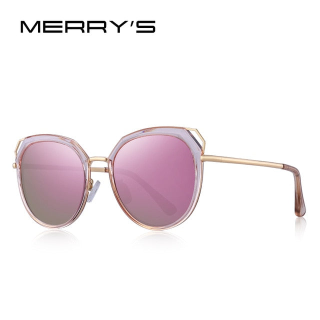 MERRYS DESIGN Women Vintage Retro Cat Eye HD Polarized Sunglasses Ladies Trending Sunglasses UV400 Protection S6270