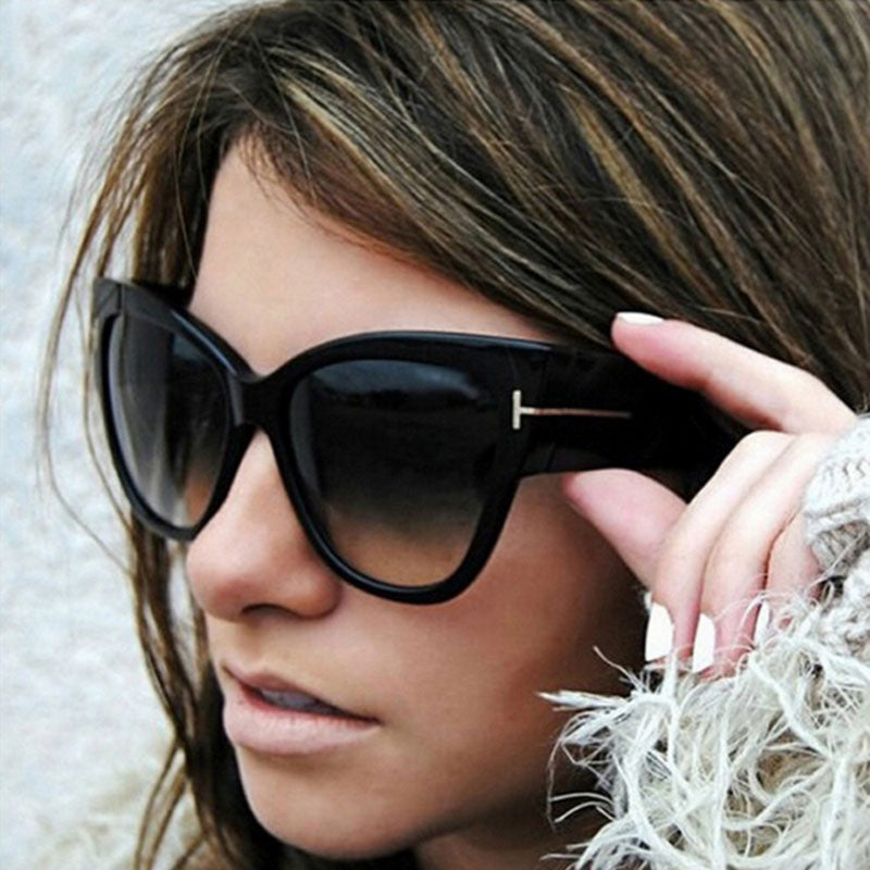ZXWLYXGX 2019 Fashion Cat Eye Sunglasses Women Brand Designer Luxury   Sexy Ladies Gradient Sun Glasses Female  UV400