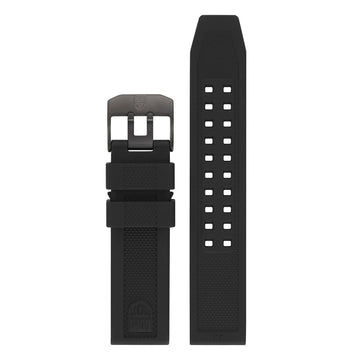 Genuine Rubber Strap, 23 mm,  FPX.3050.20B.2.K