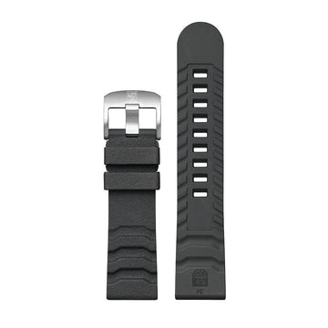 Genuine Rubber Strap, 24 mm, FPX.3800.20Q.K