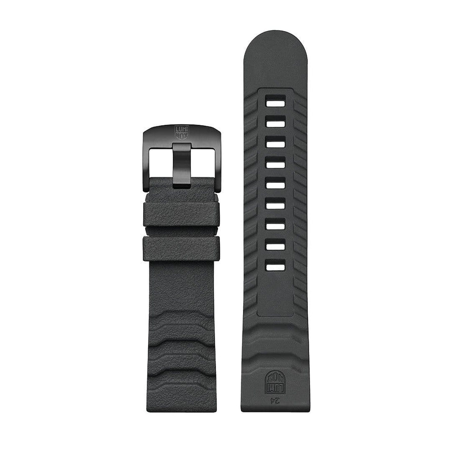 Genuine Rubber Strap, 24 mm, FPX.3800.21B.K