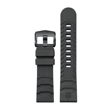 Genuine Rubber Strap, 24 mm, FPX.3800.22B.K