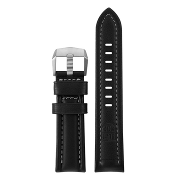 genuine leather strap, 24 mm, FEX.9240.20TI.K