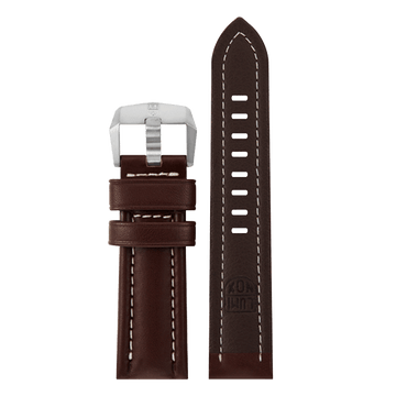 genuine leather strap, 24 mm, FEX.9240.70TI.K