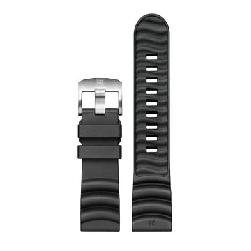 genuine rubber strap, 24 mm, FPX.2405.20Q.K