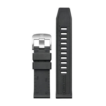 genuine rubber strap, 24 mm, FPX.8830.22B.K