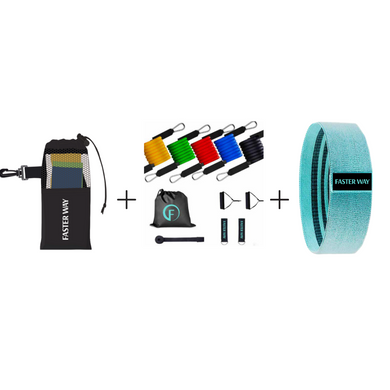FASTer Way Resistance Band Bundle