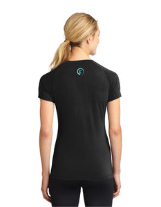 FASTer Way Ladies Ultimate Performance V-Neck Shirt