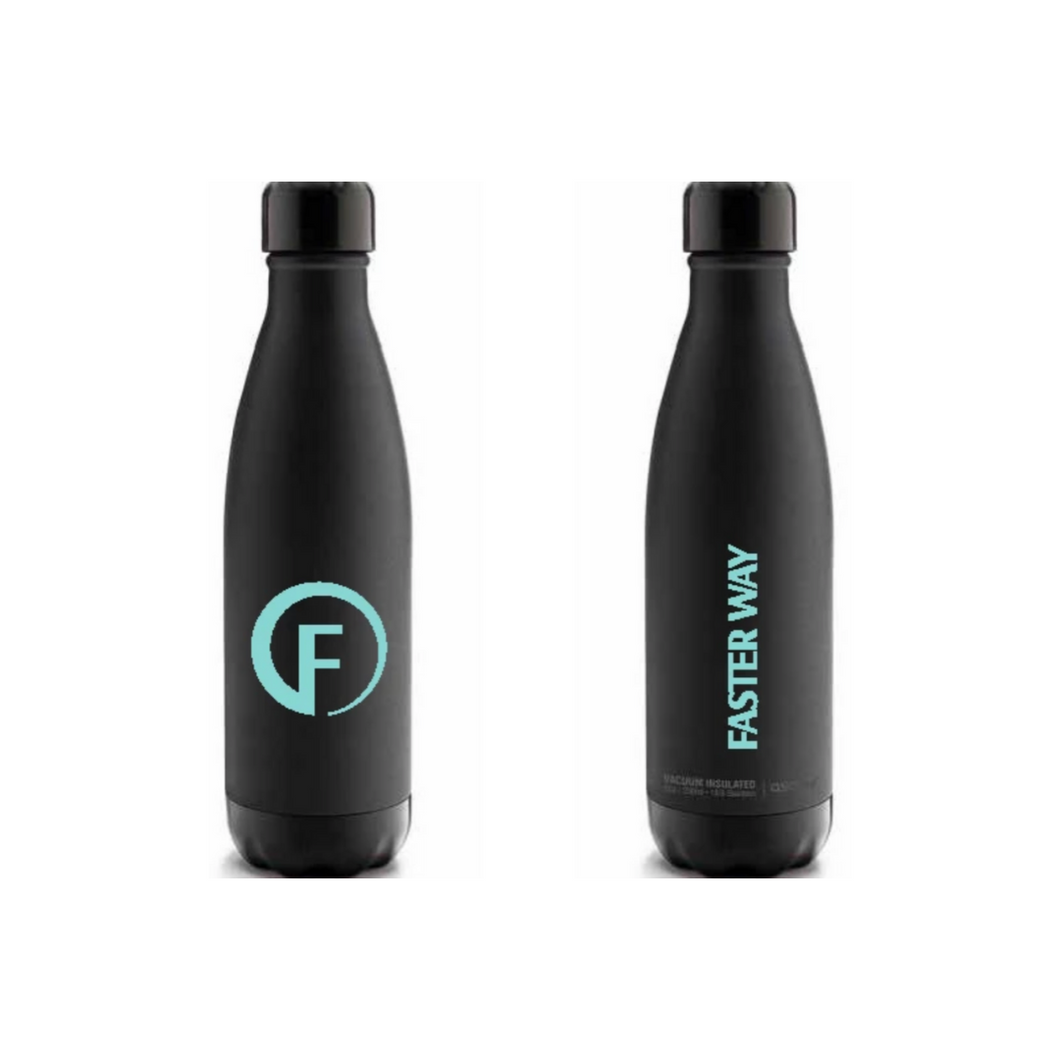 FASTer Way Water Bottle- Black