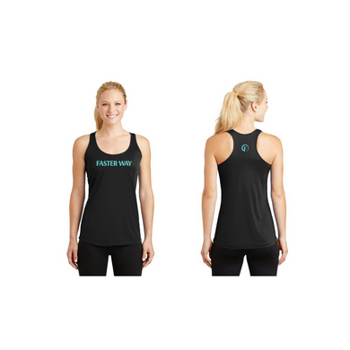 FASTer Way Black Tank Top
