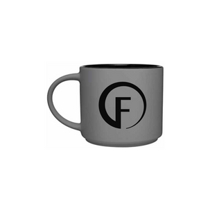 FASTer Way Matte Grey Coffee Mug