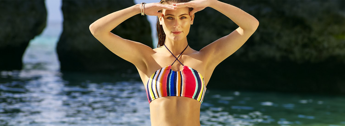 Celebrity Inspired One-Piece Swimsuits