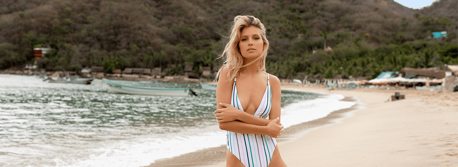 One-Piece Swimsuits From Daring to Baring