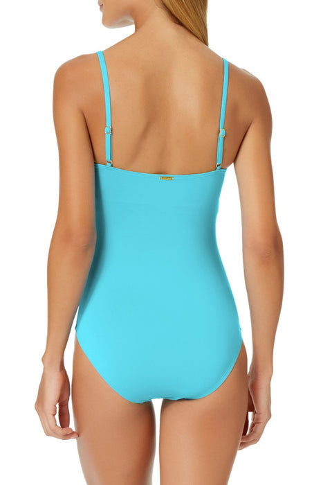 Anne Cole - Classic Moderate Leg Maillot One Piece Swimsuit