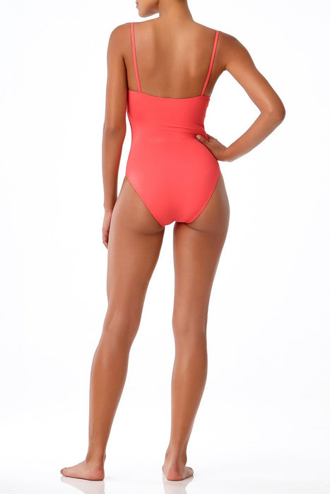 STUDIO Anne Cole - Vintage Lingerie Maillot One Piece Swimsuit