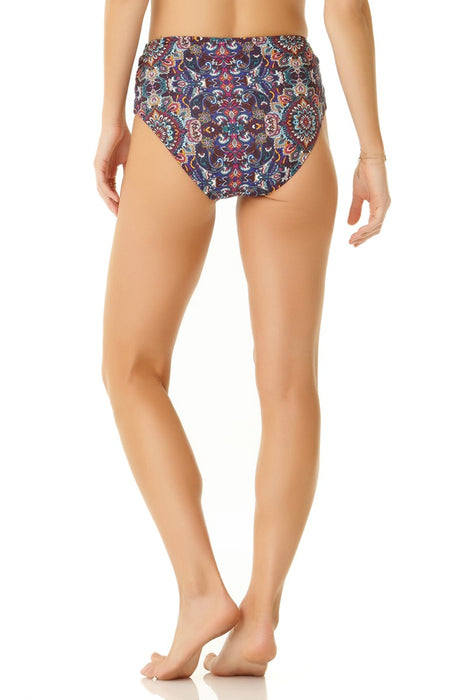 Cole Of California - Medallion Lace Up High Waisted Bottom